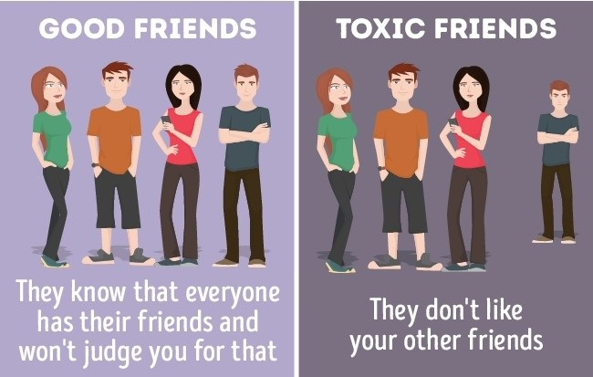 How to Determine the Toxic Friend in Your Group